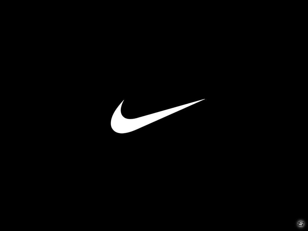 black nike wallpaper