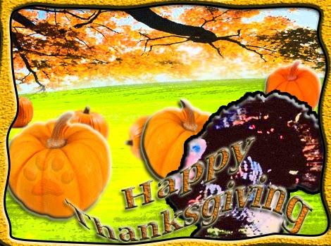 happy thanksgiving e card