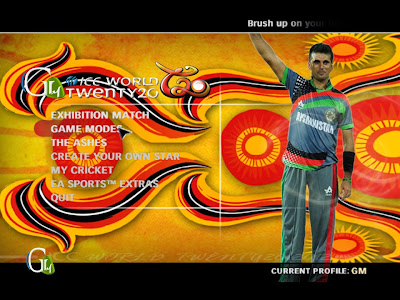 GM StudioZ T20 World Cup 2012 Patch for EA Cricket 07