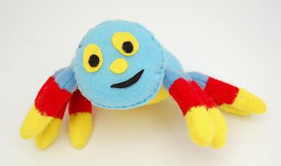 pajączek woolly