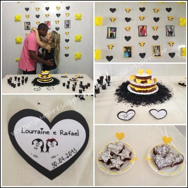 festa de aniversário de namoro