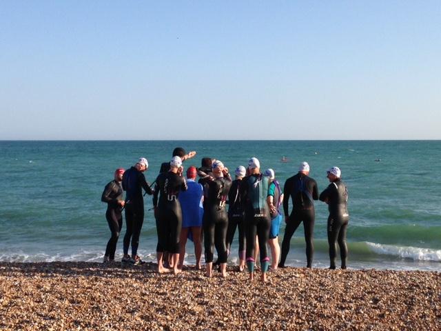 FitBits | BTRS sea swim triathlon training - Brighton