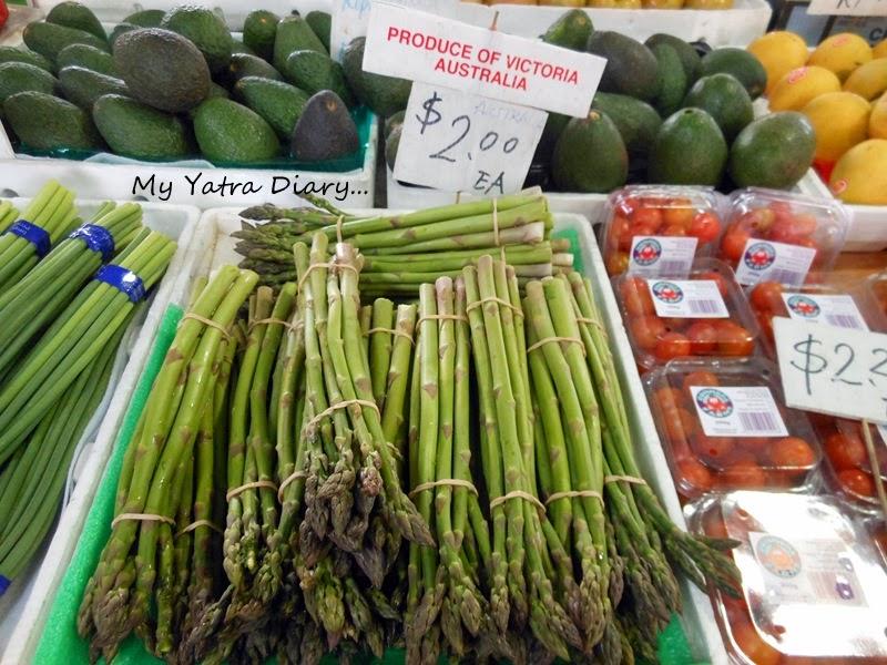 A product of Victoria at Queen Victoria Market, Melbourne