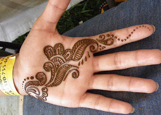 Mehandi Design for Kids & Childrens