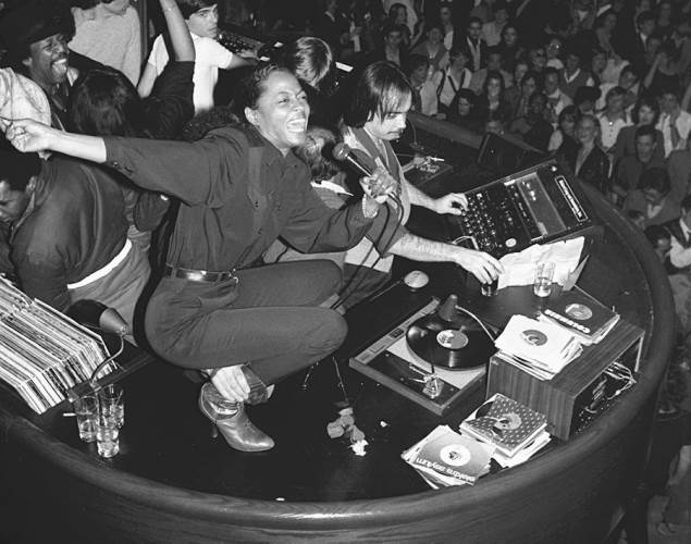 The Scene at Studio 54 Diana Ross