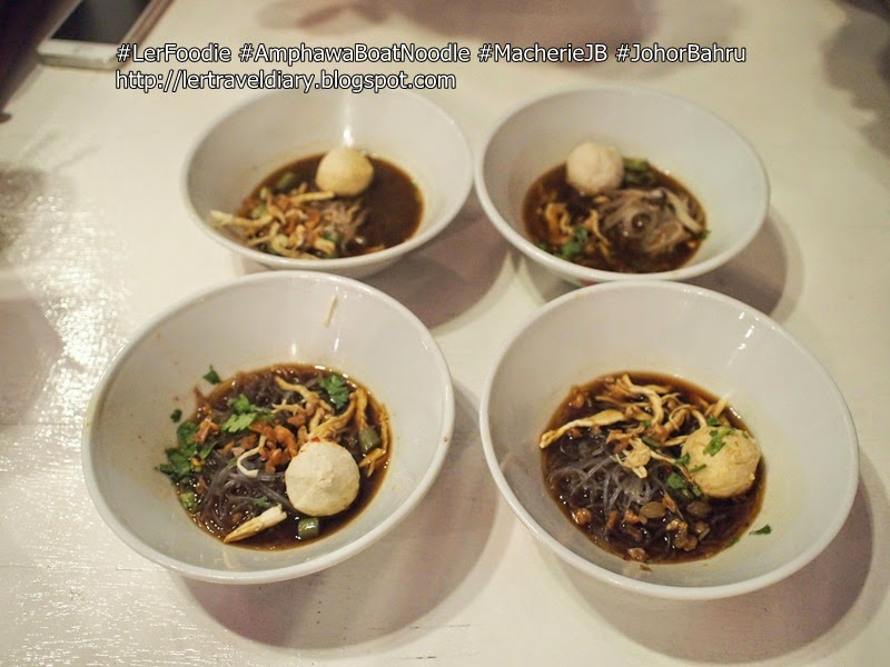 Amphawa Chicken Boat Noodle / Rangsit Chickent Boat Noodle / Amphawa Beef Boat Noodle /  Rangsit Chicken Boat Noodle RM1.90
