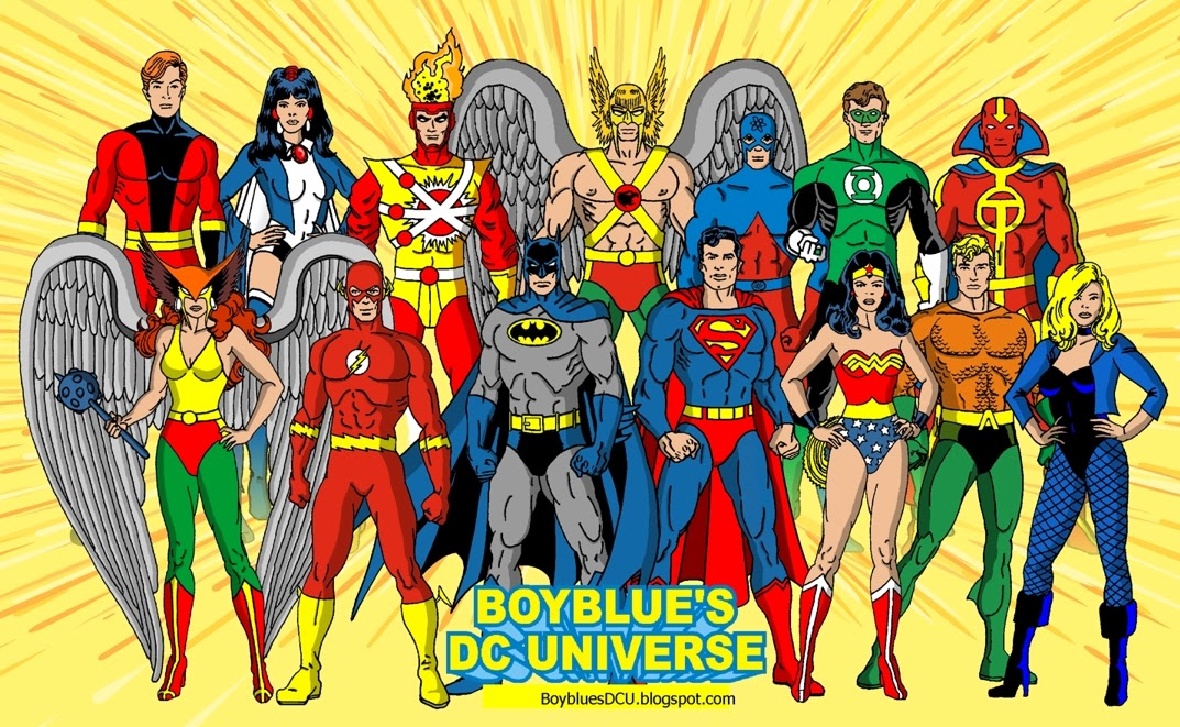 Justice League of America 1970's satellite era 1980's