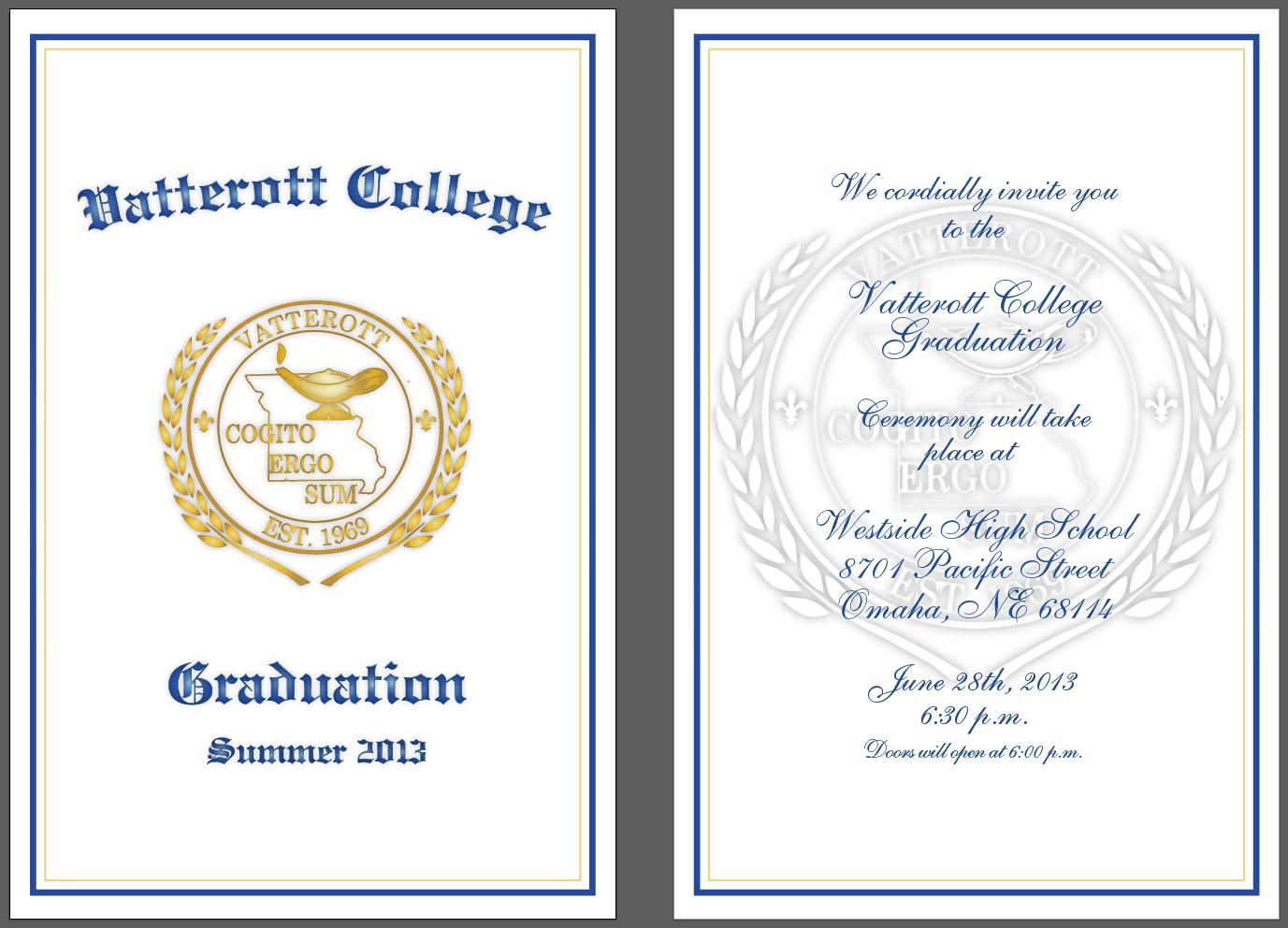 michael t  cottrell  vatterott graduation program and