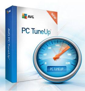 برنامج تسريع الجهاز وتنظيفه AVG pc tuneup