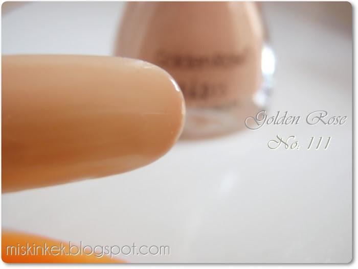Golden Rose-oje-nail polish-golden rose ten rengi oje