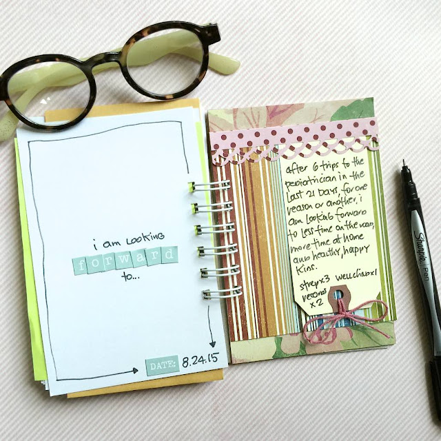 #list #journal #30lists #notebook #scrapbooking #scrapbook #mini album