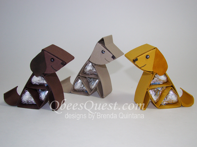 qbee 39 s quest hershey 39 s dog and paw print tutorial