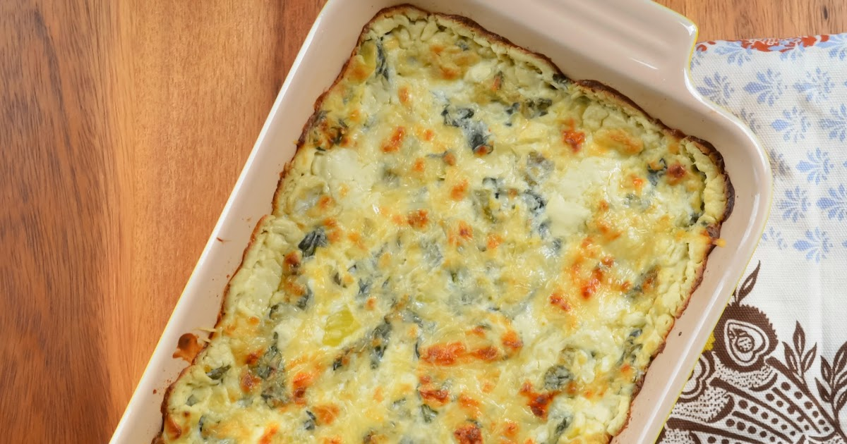 Hot Spinach Artichoke Dip | Serena Bakes Simply From Scratch