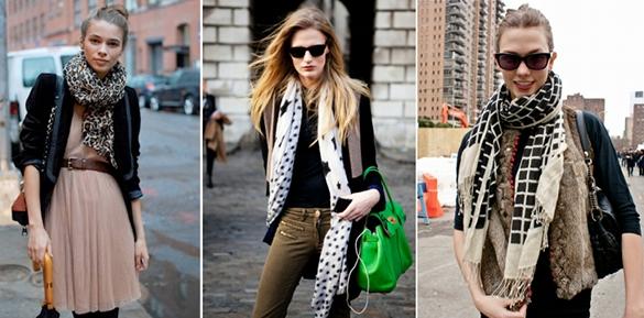 moda pañuelos y foulards
