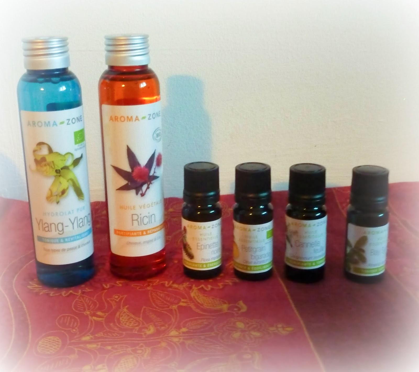 Stimuler la pousse des cheveux aroma zone