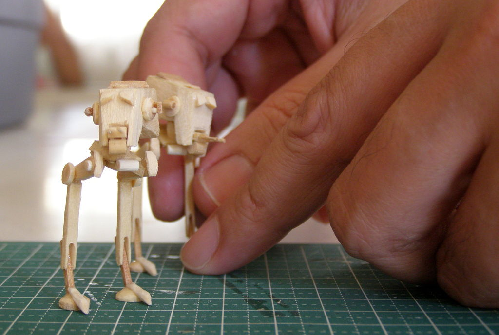 the combat workshop model maniacs popsicle stick at st