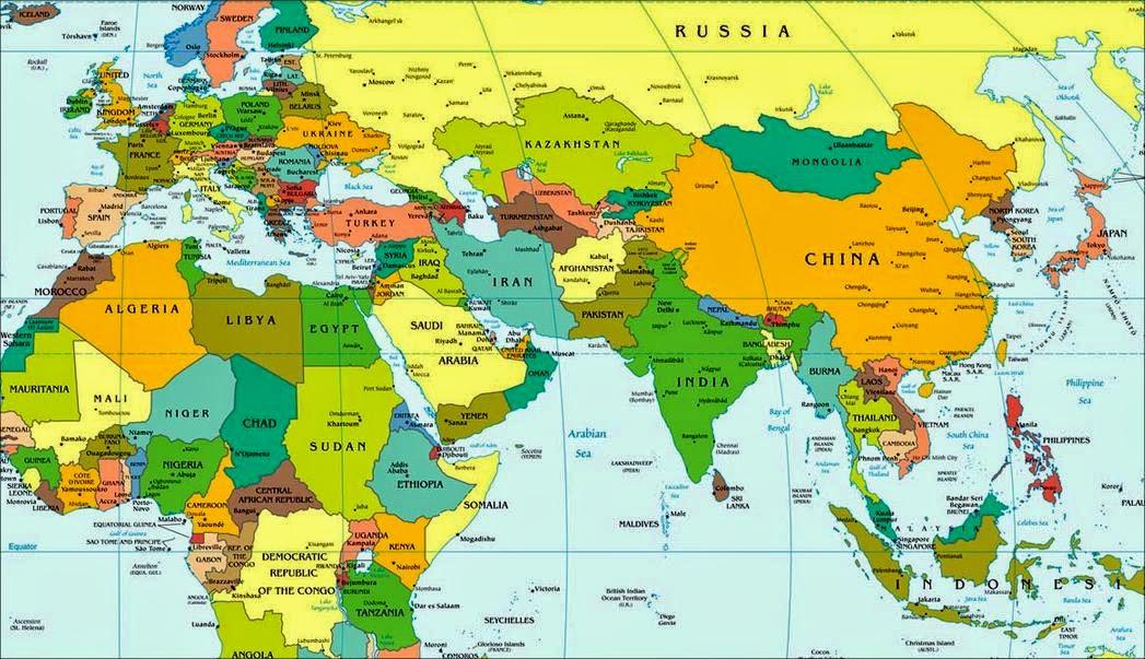 Peta Dunia World Map Inilah Perang Em Yazid Blog Wwwgambar