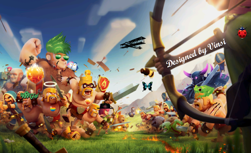 Clash of Clans Universal Unlimited Mod/Hack v6.407.2 APK