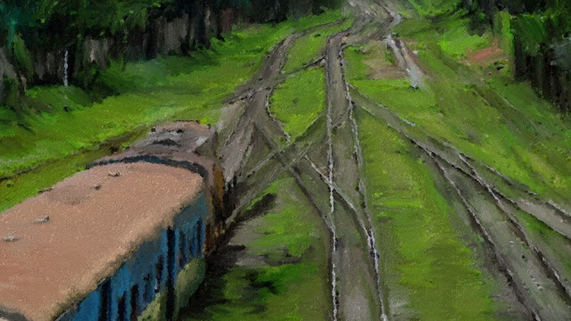အဲလုိထူး – ရထားလမ္းေဘး အေတြး
