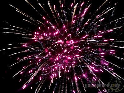 Enchanted Kingdom fireworks