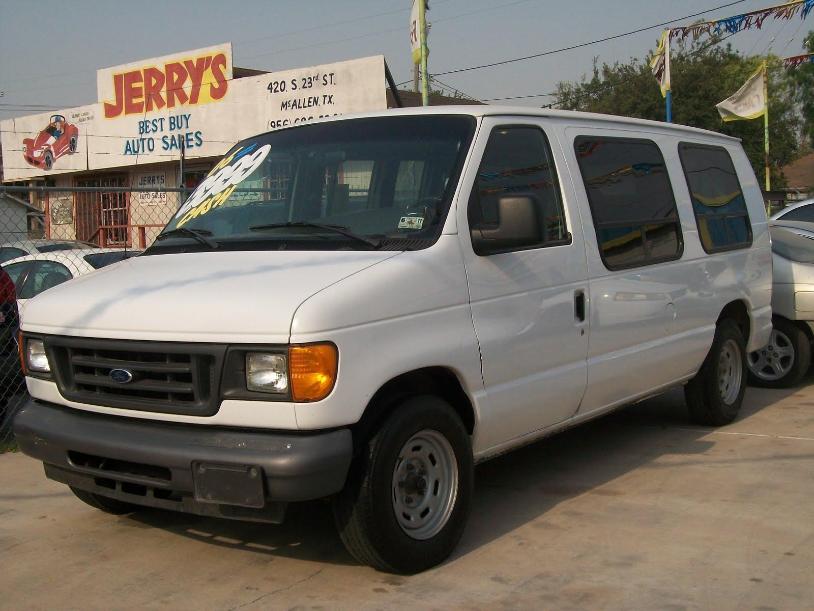 dos primos auto sales 2006 ford e 150 cargo van. Black Bedroom Furniture Sets. Home Design Ideas
