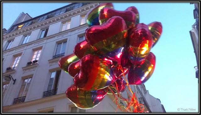 ballons Raidd bar Paris, soirée Fête de la musique Marais