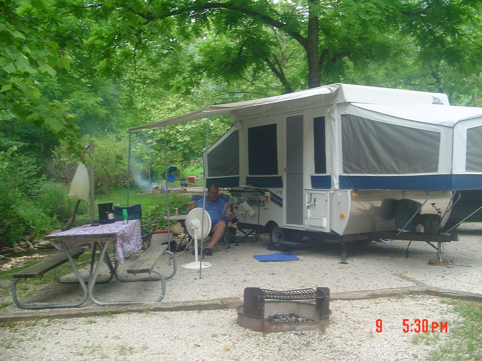 Camping At Natural Bridge State Park
