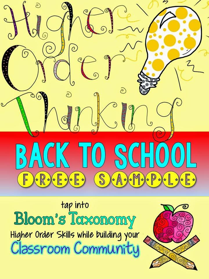 http://www.teacherspayteachers.com/Product/Back-to-School-Higher-Order-Thinking-Activities-FREE-SAMPLE-1337833