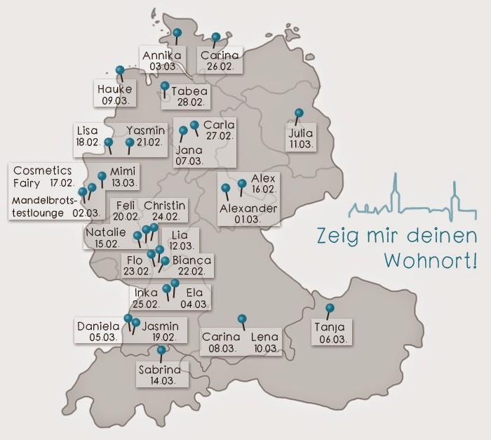 {Zeig mir deinen Wohnort} München