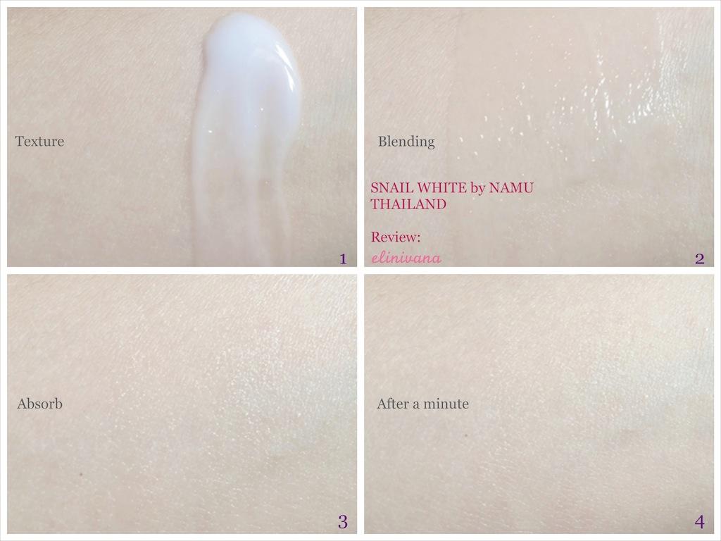 Kết quả hình ảnh cho BODY LOTION SNAIL WHITE NAMU