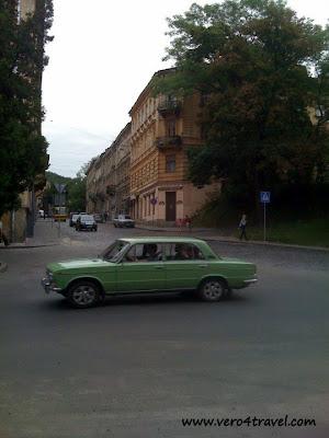 coches en Ucrania