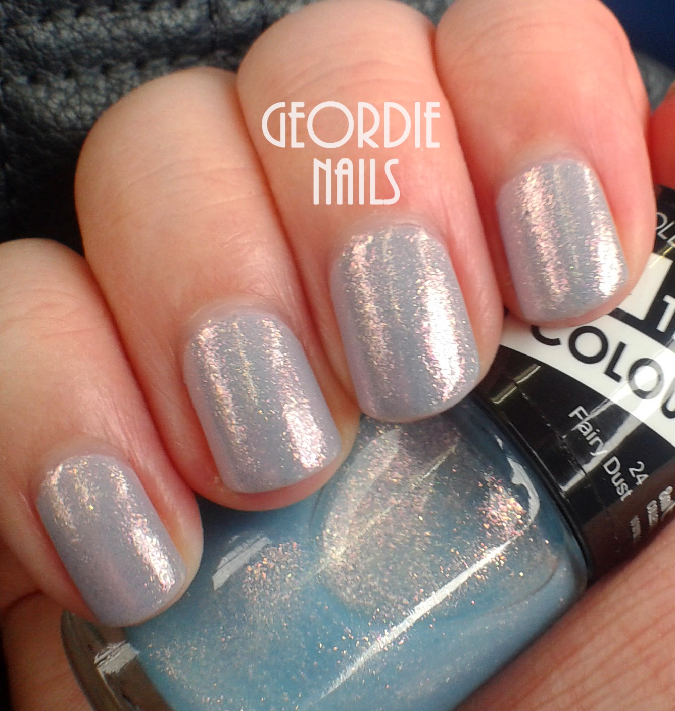 Geordie Nails: Collection Work The Colour ~ Fairy Dust