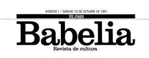 BABELIA (suplemento literario de El País)
