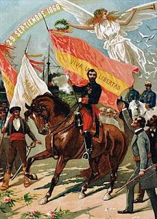 Alegoría de la revolución de 1868
