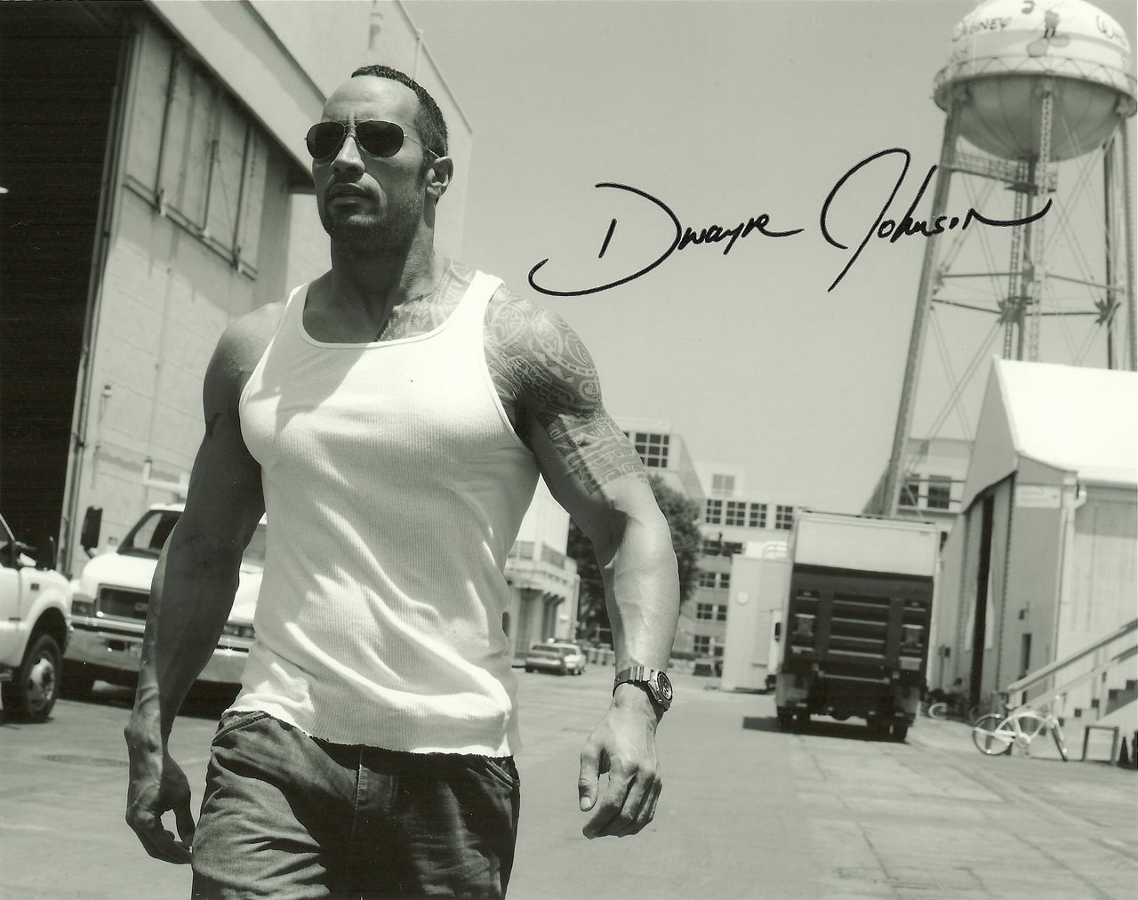 """BIOGRAPHY"": Dwayne Johnson images"