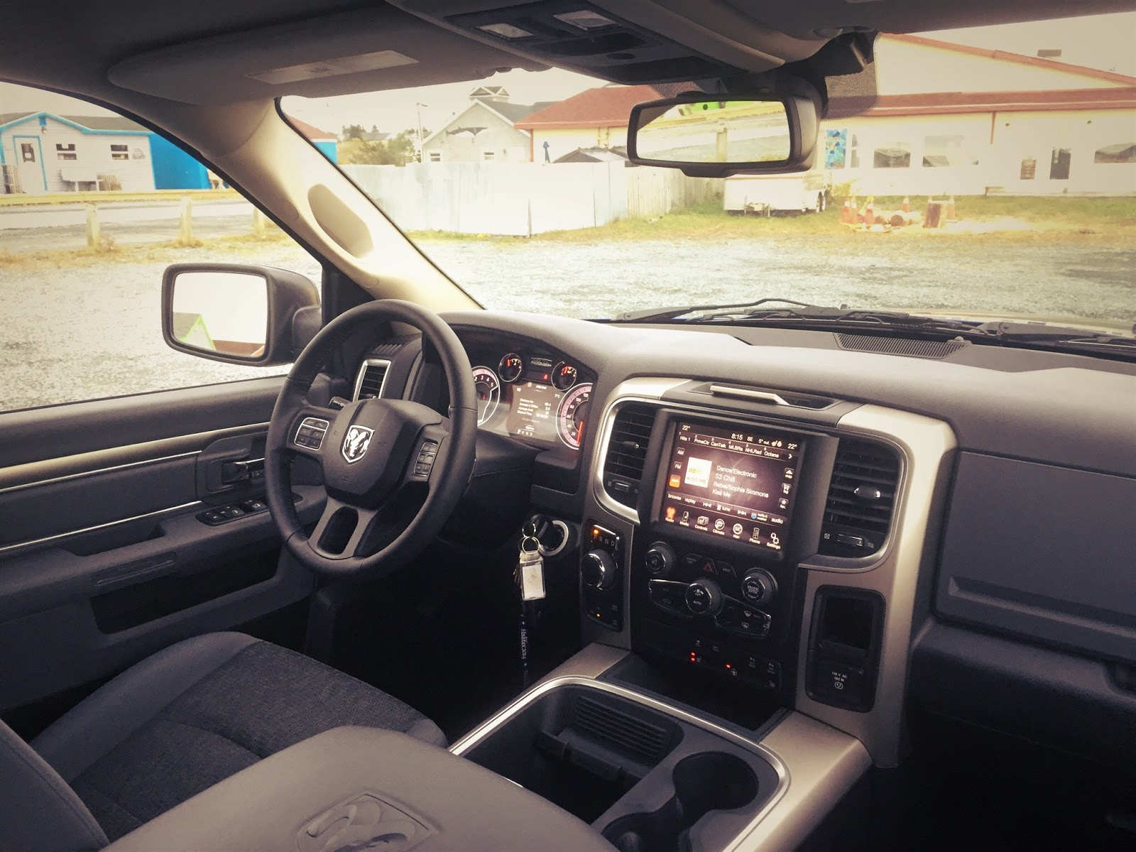 2015 Ram 1500 Outdoorsman Interior