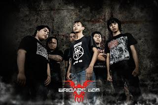 Brigade 666 Band Trash Metal Banjarbaru Kalimantan Selatan
