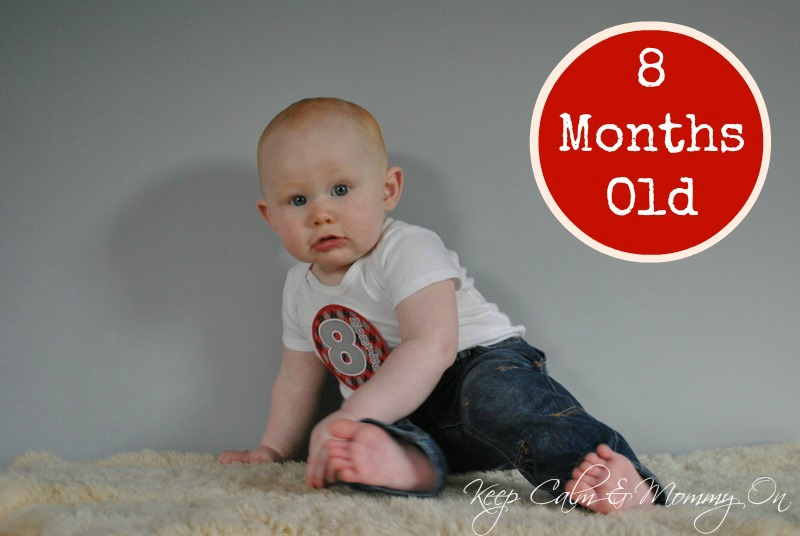 Keep Calm and Mommy On: 8 Months Old
