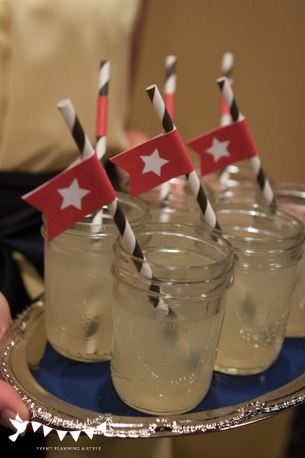 In Flight Party Ideas Titanic Styled Wedding Credits And