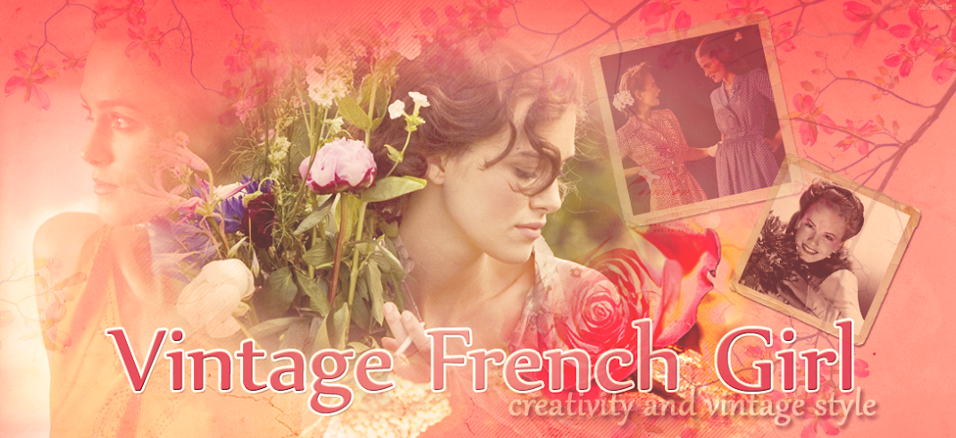 Vintage French Girl