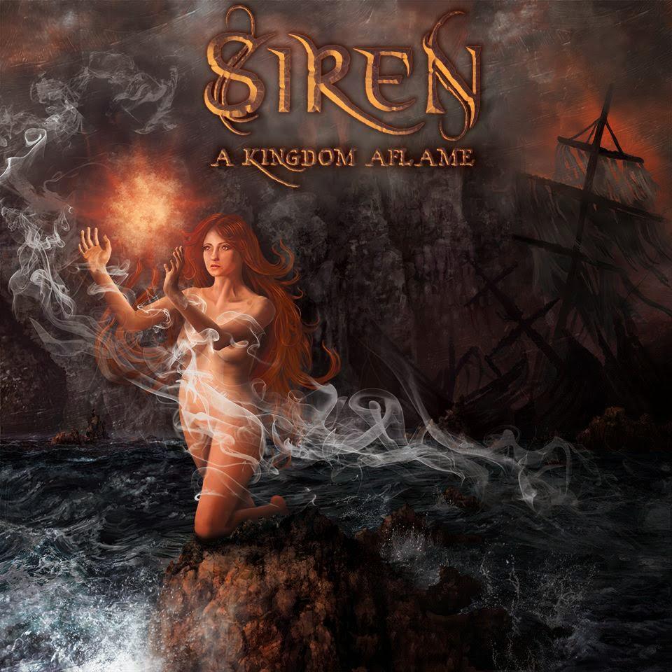 metal artwork mermaid siren storm