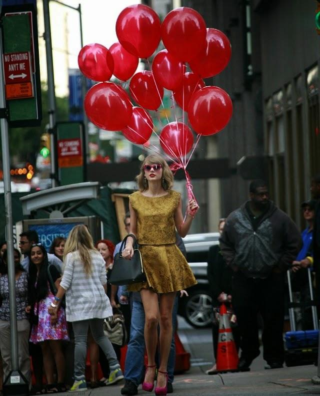 Taylor Swift acapara todas las miradas