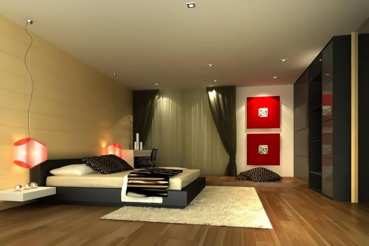 desain kamar tidur utama mewah dan elegan gambar rumah