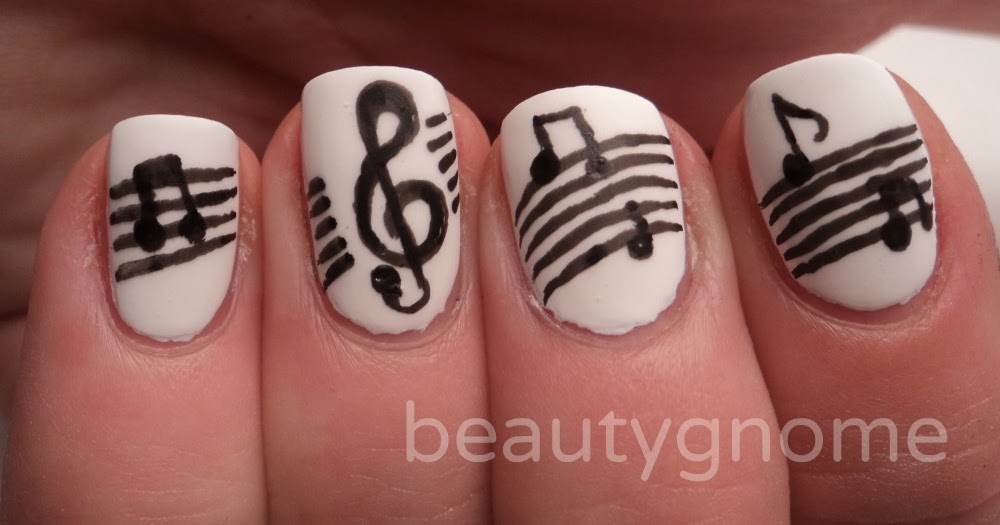 Artsy Wednesday: Music Nail Art!cute quotes happiness ...