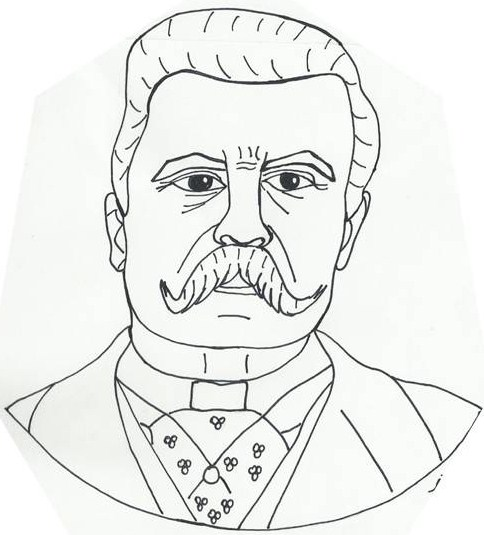Porfirio Diaz Drawing