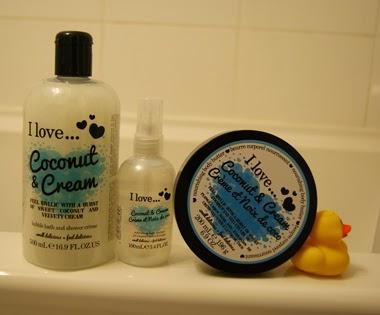 I Love... (cosmetics) Coconut & Cream