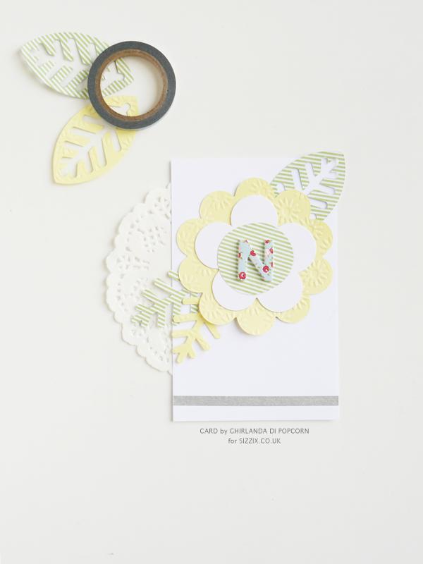 Sizzix Bouton Rose Fleur ~ Craft Die Cutter