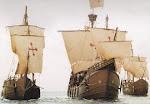 ...Eran tres que surcaban el océano para llegar a su destino..