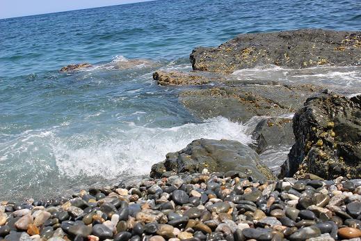 roses brave coast girona catalonia