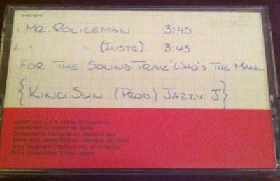 King Sun – Mr. Policeman (199x) (Cassette) (VBR)